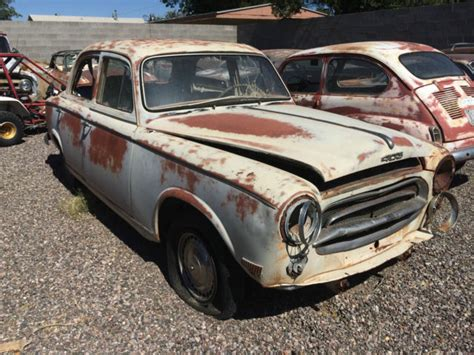 Peugeot 403 For Sale by 1959 Peugeot 403 Sedan Classic Peugeot Other 1959 For Sale