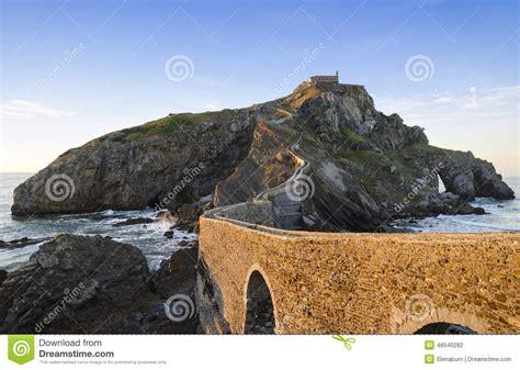 Coastline In Basque Country Spain San Juan De
