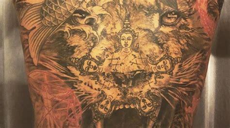 zlatan ibrahimovic devoile son nouveau tatouage photo