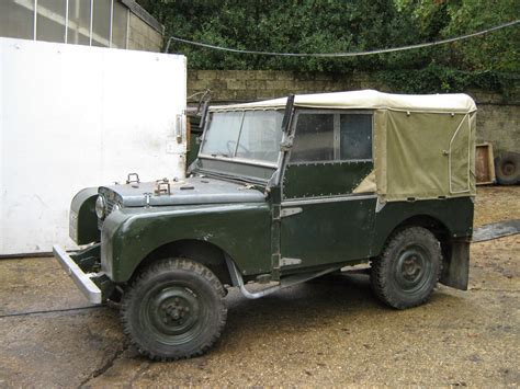 land rover series   army  cars