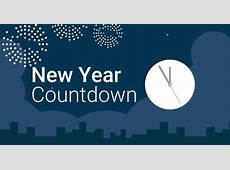 Countdown to New Year 2020 in New York