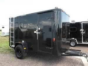 Enclosed Cargo Trailer Camper Conversion 6 X 12