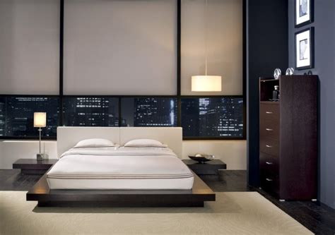 modern style bedding features of the bedroom interior in the modern style