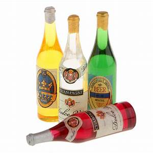 Online get cheap miniature champagne bottles aliexpress for Cheap mini wine bottles