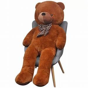 Ours En Peluche : acheter vidaxl ours en peluche 200 cm marron pas cher ~ Teatrodelosmanantiales.com Idées de Décoration