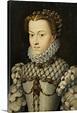 Elisabeth Of Austria, Queen Of France By Francois Clouet ...