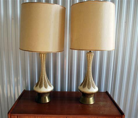 junkfunk pair  mid century modern lamps