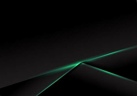 Abstract Black Image Background by Abstract Template Black Frame Layout With Green Neon Light