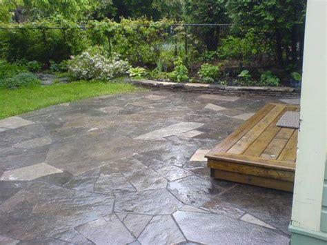 lay flagstone ottawa dry laid flagstone patio walkway