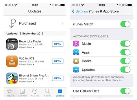 automatic app updates iphone how to 3 how do i automatically update apps on iphone