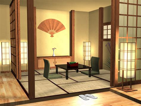 Japanese House Interior By Brillindeiel On Deviantart