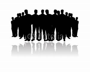 Audience Silhouette Clipart