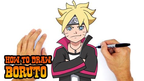 How To Draw Boruto