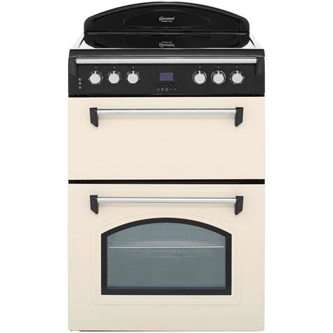 best cooker leisure gourmet grb6cvc electric cooker with ceramic hob cream a a rated