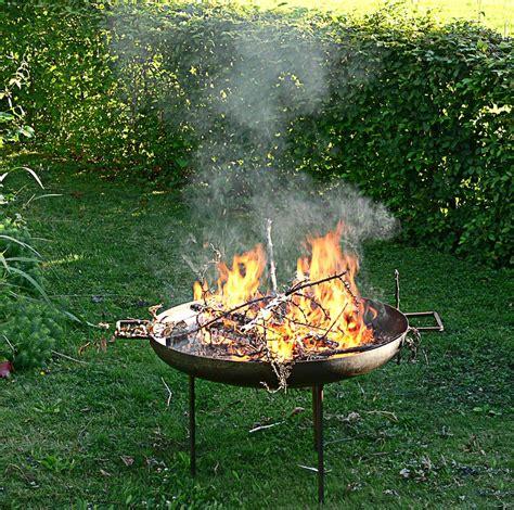 Feuerschale Als Feuerstelle  Grillen Für Anfänger Und Profis