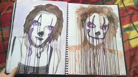 Gcse Art Nightmares Sketchbook Youtube