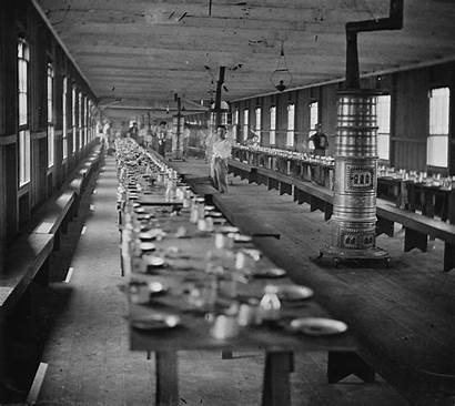 Hall Mess Harewood Hospital 1864 Interior History