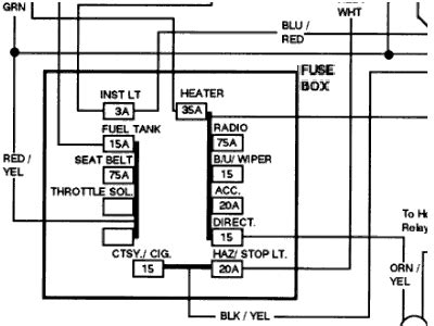 1977 Ford F150 Fuse Box Diagram by Solved I Need Fuse Panel Diagram For 1974 Ford F100 302