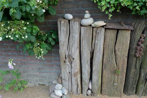 Alte Holzbalken Deko