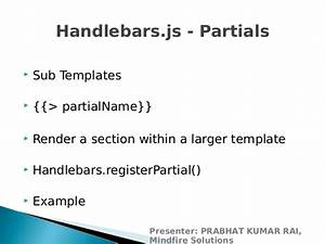 introduction to javascript templating using handlebarsjs With handlebars template tutorial