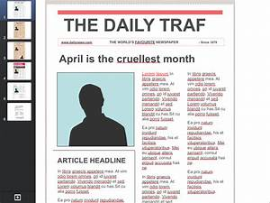 Best photos of fake newspaper front page template for Google docs front page template