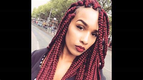 big box braids hairstyles youtube