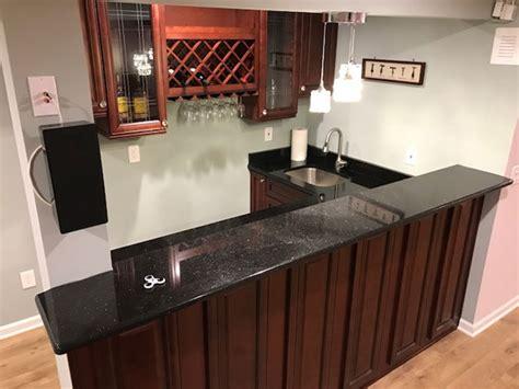 finished basement  bar bathroom  home theater