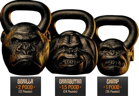kettlebell kettlebells gorilla onnit primal bell rogan bells joe head workout kettle crossfit fitness chimp gym training custom equipment freaking