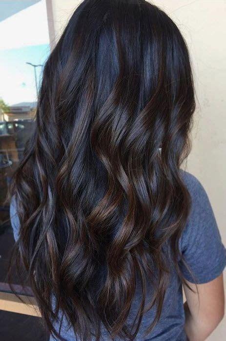 dark brunette balayage ideas  pinterest