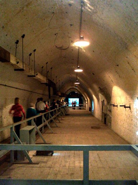 wwii cold war tunnels   white cliffs  dover