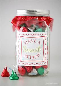 How To Make Jar Labels Have A Quot Sweet Quot Holiday Free Printable I Heart Nap Time