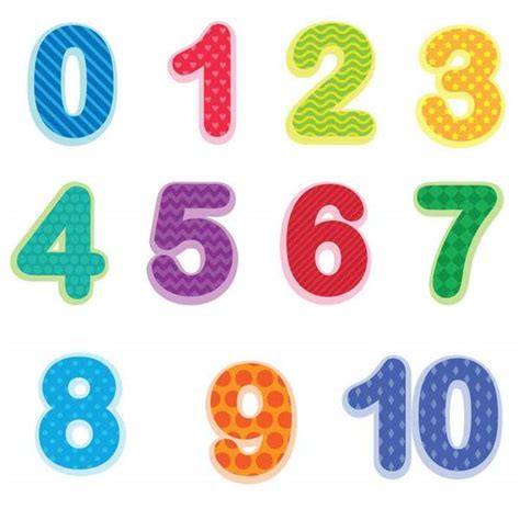 preschool number wall decals 0 10 baby and toddler number 821 | numer decals grande