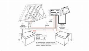 Monocrystalline Solar Panel Kit Dual Battery Setup