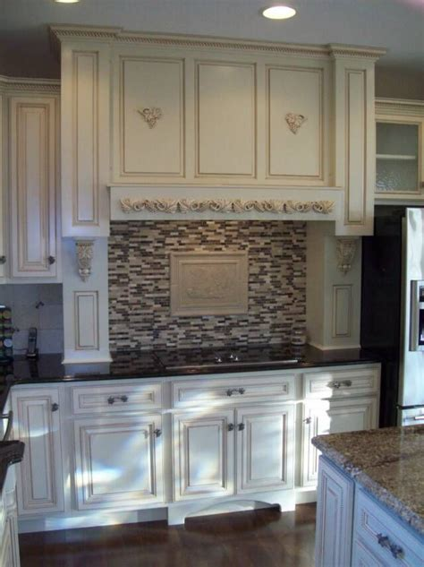 Off White Cabinets With Glaze  Off White Northern Contour