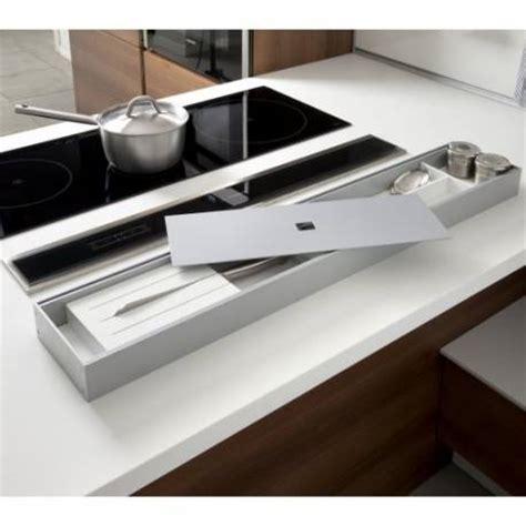 luminaire led cuisine rangement ustensiles sur plan de travail accessoires de