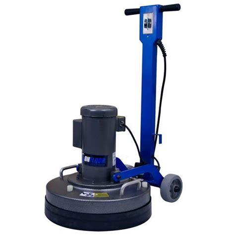 onfloor  speed surfacing floor machine unoclean