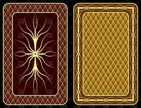 playing card  design vector  getdrawings