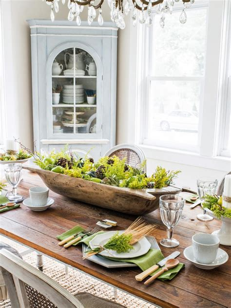 decorating with bowls how to create a rustic fall centerpiece in a dough bowl hgtv