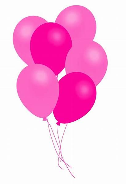 Balloons Bunch Yellow Pink Balloon Clipart Transparent