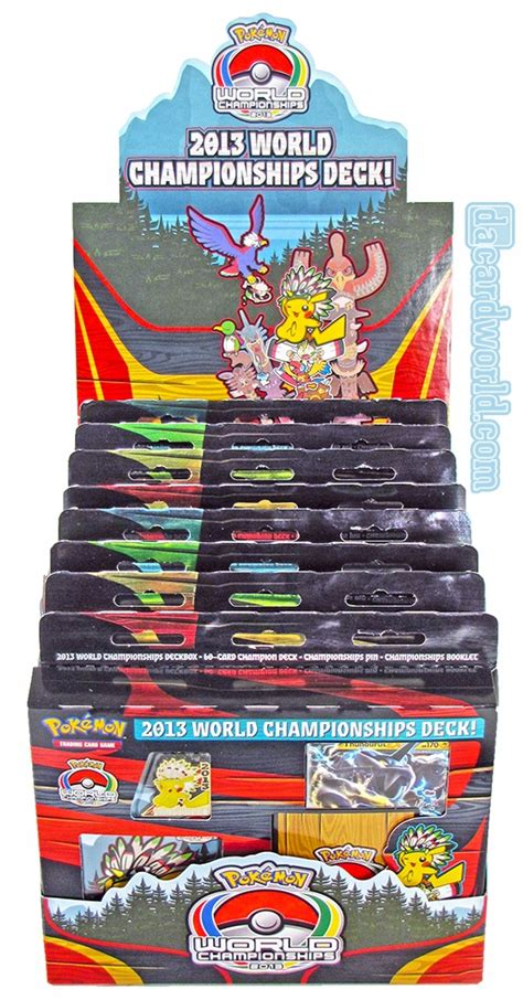 World Chionship Decks by 2013 World Chionship Deck Box Da Card World