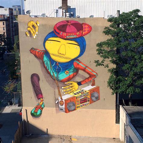 boy street art  os gemeos  nyc  vandallist