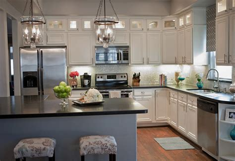 kitchen designs with white cabinets remodelaholic complete kitchen transformation white