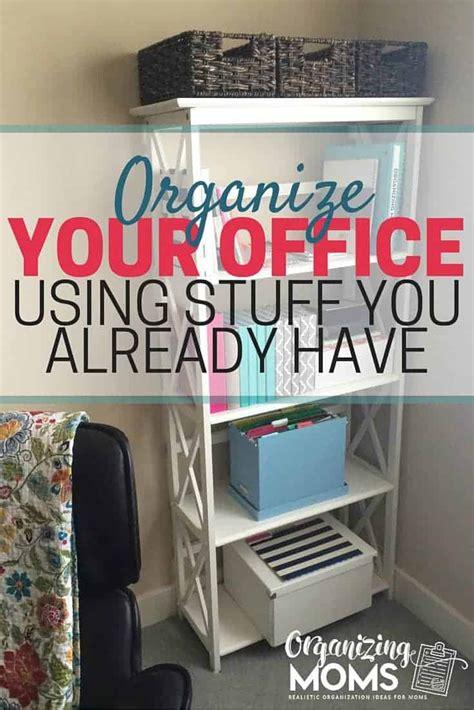 organizing  office  stuff