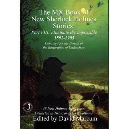 holmes sherlock mx stories walmart viii part hardcover books jay