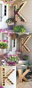 Home, Decorating, Ideas, For, Cheap, Diy, Monogram, Planter