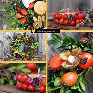 Einfache Herbstdeko Tisch : s e herbstdeko aus naturmaterialien basteln mit liebe gemacht mit liebe gemacht ~ Markanthonyermac.com Haus und Dekorationen