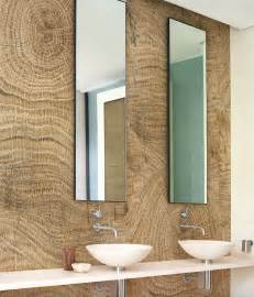 wandbilder fã r badezimmer wood effect bathroom wallpaper lines by wall decò design christian benini