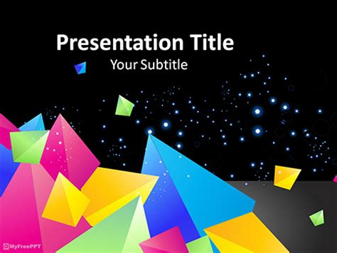 abstract powerpoint templates themes