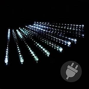 Led Weihnachtsbeleuchtung Außen : lichterregen lichterkette 180 led meteor effekt party weihnachten wei au en f r den garten ~ Frokenaadalensverden.com Haus und Dekorationen