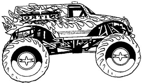 Cool Coloring Pages For Boys Monster Truck Have Coloring